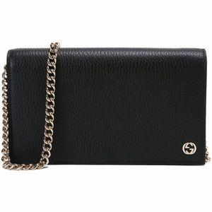 Gucci Interlocking G Wallet Crossbody Shoulder Bag